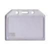 Buzunar ecuson  PVC transparent  85x54mm orizontal 5 buc/set, KEJEA