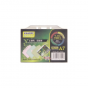 Buzunar ecuson PP transparent 105x74mm orizontal cu sistem de agatare 10 buc/set, KEJEA