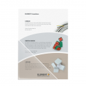 Buzunar adeziv triunghi 100x100mm 10 buc/set, PROBECO