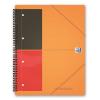 Caiet A4+ cu spira 80 file matematica coperti PP, OXFORD Meetingbook