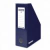 Suport vertical documente 10cm carton, DONAU - bleumarin