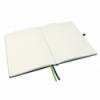 Caiet A4 80 file dictando negru, LEITZ Complete