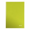 Caiet A4 80 file dictando verde metalizat, LEITZ WoW