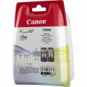 Cartus imprimanta cerneala black & color, CANON PG-510 / CL-511