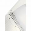 Caiet A4 cu spira 80 file dictando coperti PP verde metalizat, LEITZ Get Organized WoW