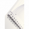 Caiet A4 cu spira 80 file matematica coperti PP roz metalizat, LEITZ Get Organized WoW