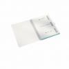 Caiet A4 cu spira 80 file matematica coperti PP turcoaz metalizat, LEITZ Be Mobile WoW