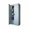 Dulap metalic cu 3 polite si caseta interioara H1900