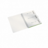 Caiet A4 cu spira 80 file matematica coperti PP verde metalizat, LEITZ Be Mobile WoW