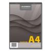 Blocnotes A4 80 file dictando hartie galbena, AURORA Office