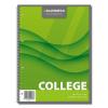 Caiet A4 cu spira 80 file dictando, AURORA College
