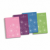 Caiet A4 cu spira 80 file matematica margini color coperti PP, FABER-CASTELL