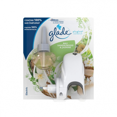 Odorizant camera electric + rezerva 10ml, GLADE