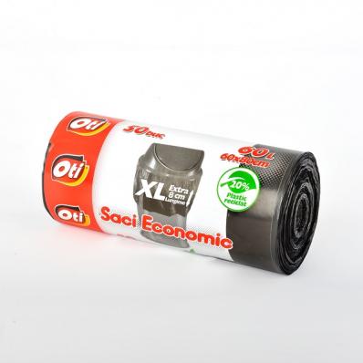 Saci menajeri 60l XL 50 buc/set, OTI Economic