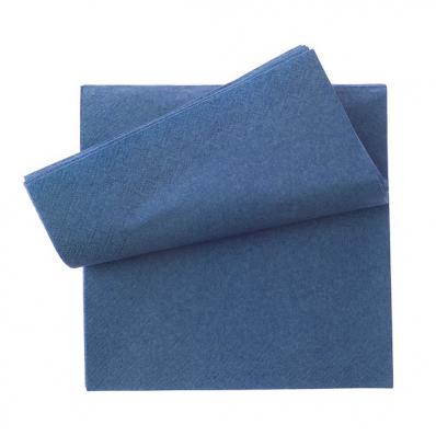 Servetele de masa 2 straturi 33x33cm albastru 250 buc/set, OTI