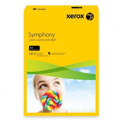 Carton A4 160g/mp 250 coli/top galben intens, XEROX