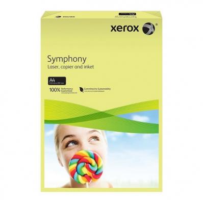Carton A4 160g/mp 250 coli/top galben pal, XEROX