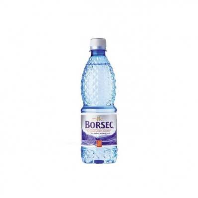 Apa minerala plata 0.5 litri 12 buc/bax, BORSEC