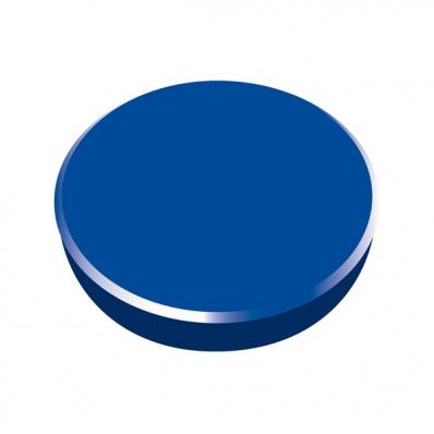 Magneti tabla 38mm diametru plastic albastru 10 buc/set, ALCO
