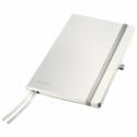 Caiet A5 80 file dictando coperti flexibile alb arctic, LEITZ Style