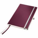 Caiet A5 80 file dictando coperti flexibile grena, LEITZ Style
