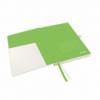 Caiet A5 80 file dictando coperti rigide alb, LEITZ Complete