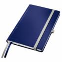 Caiet A5 80 file dictando coperti rigide albastru violet, LEITZ Style