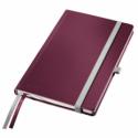 Caiet A5 80 file dictando coperti rigide grena, LEITZ Style