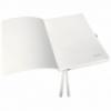Caiet A5 80 file matematica coperti flexibile alb arctic, LEITZ Style