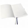 Caiet A5 80 file matematica coperti flexibile albastru violet, LEITZ Style