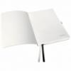 Caiet A5 80 file matematica coperti flexibile negru satin, LEITZ Style