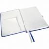 Caiet A5 80 file matematica coperti rigide albastru violet, LEITZ Style