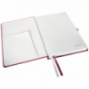 Caiet A5 80 file matematica coperti rigide grena, LEITZ Style