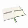 Caiet A5 80 file matematica coperti rigide negru, LEITZ Complete