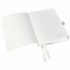 Caiet A6 80 file dictando coperti flexibile alb arctic, LEITZ Style