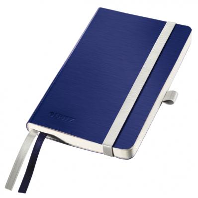 Caiet A6 80 file dictando coperti flexibile albastru violet, LEITZ Style