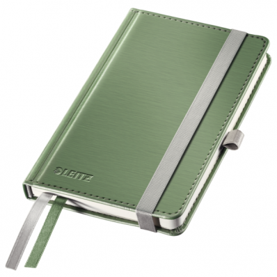 Caiet A6 80 file dictando coperti rigide fistic, LEITZ Style
