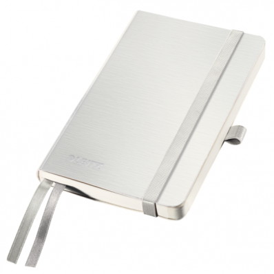 Caiet A6 80 file matematica coperti flexibile alb arctic, LEITZ Style