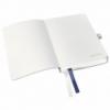 Caiet A6 80 file matematica coperti flexibile albastru violet, LEITZ Style