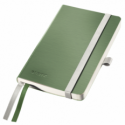 Caiet A6 80 file matematica coperti flexibile fistic, LEITZ Style