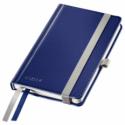 Caiet A6 80 file matematica coperti rigide albastru violet, LEITZ Style