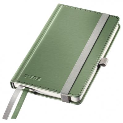 Caiet A6 80 file matematica coperti rigide fistic, LEITZ Style