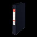 Caiet mecanic A4 2 inele 35mm PVC negru, ESSELTE Standard Vivida