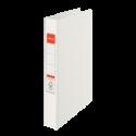 Caiet mecanic A4 4 inele 35mm PVC alb, ESSELTE Standard Vivida