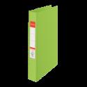Caiet mecanic A4 4 inele 35mm PVC verde, ESSELTE Standard Vivida