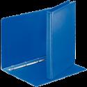 Caiet mecanic cu buzunar A4 4 inele 30mm PP albastru, ESSELTE Panorama