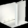 Caiet mecanic cu buzunar A4 4 inele 44mm alb, ESSELTE Panorama