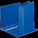 Caiet mecanic cu buzunar A4 4 inele 62mm albastru, ESSELTE Panorama