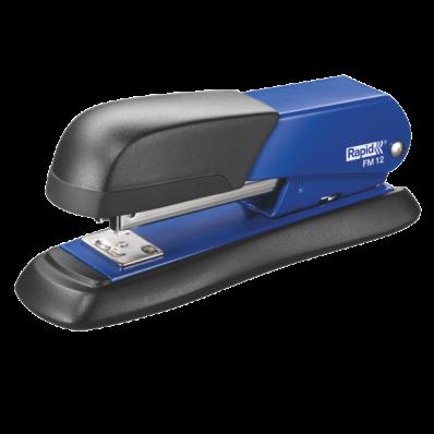 Capsator 24/6 25 coli metalic albastru, RAPID FM12