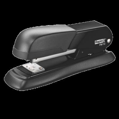 Capsator 24/6 25 coli metalic negru, RAPID FM12